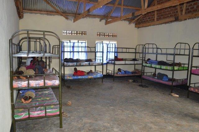 The new dormatory facilities at the Good Samaritan School