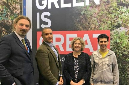 UK MPs, Chris Law, Clive Lewis, Alex Sobel and Baroness Northover attend parliamentary meetings held in association with COP 23 in Bonn