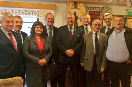 UK Delegation and Romanian counterparts warmly welcomed in Brasov