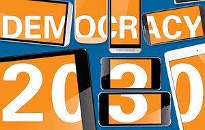How will the institutions of democracy – parliament, political parties and elections – change between now and 2030?