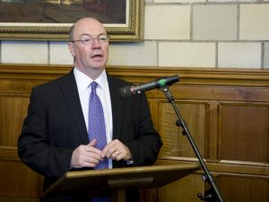 FCO Minister Alistair Burt MP addresses the State Opening reception