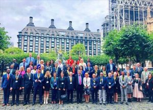 Participants at the International Parliamentary Seminar at UK Parliament