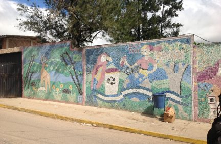 Mural Wall in Honduras