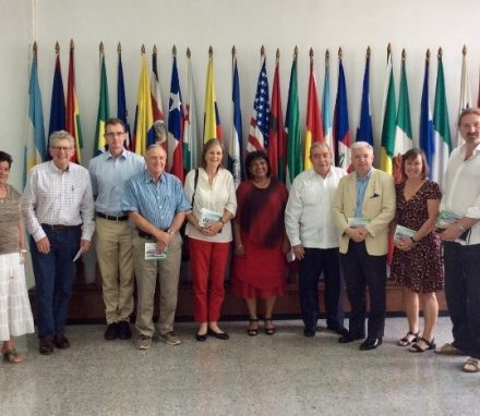 Delegation visiting the Latin American School of Medicine.jpg