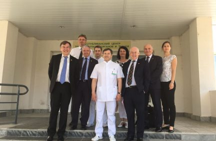 Delegation hosted by Chairman of the UK-Group, Dr Oleg Rummo