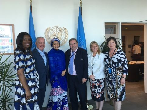 UK MPs and Peers meet UN Deputy Secretary General, Amina Mohammed, in New York for HLPF