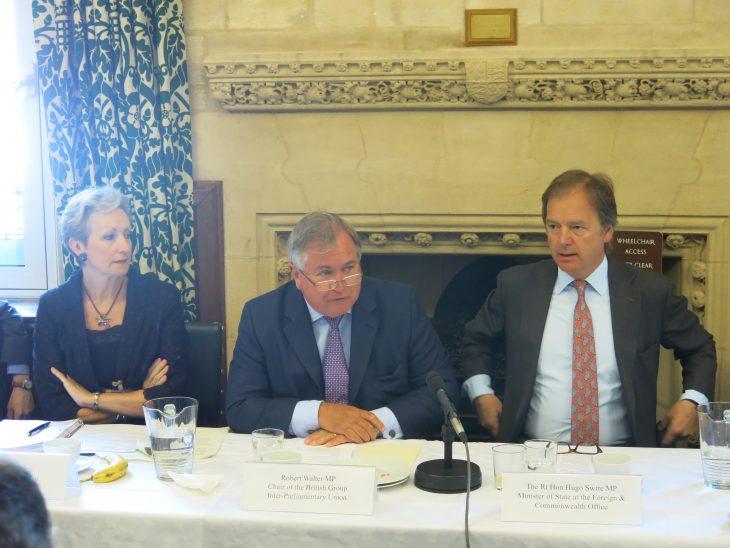 Chairman Robert Walter MP outlines BGIPU role