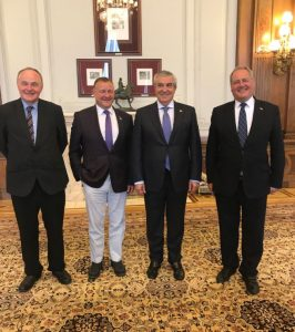 Florin Iordache VP Chamber of Deputies meets UK delegation