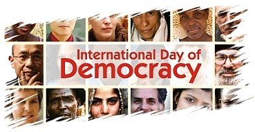 It was in September 1997 that the Inter-Parliamentary Union adopted a Universal Declaration on Democracy. That Declaration affirms the principles of democracy, the elements and exercise of democratic government, and the international scope of democracy.
