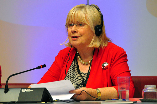 Ann Clwyd MP delivers report of the IPU Committee on Human Rights of MPs