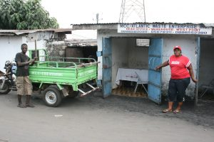 A waste disposal project in Monrovia funded byt World Bank Infrastructure project