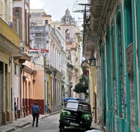 Classic image of Old Havana