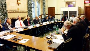 Roundtable dicussions with BGIPU and Romania APPG members