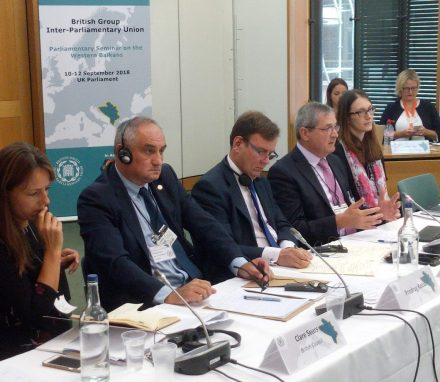 Greg Hands MP chairs a session on regional economic cooperation in the Western Balkans.jpg