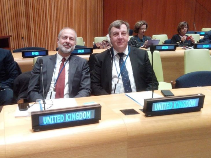 BGIPU was represented at the Annual Hearing by the BGIPU Chair, Rt Hon John Whittingdale MP, and the Shadow Minister for Peace & Disarmament, Fabian Hamilton MP.