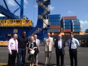 APPG Members visit new port development in Djibouti