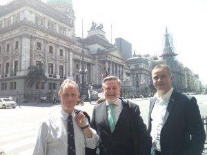 The UK delegation led by BGIPU Chair, Nigel Evans MP, with Barry Gardiner MP and Angus MacNeil MP