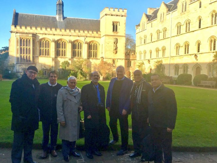Delegation hosted at Pembroke College
