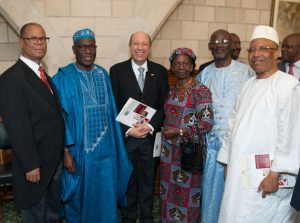 Ambassadors attended the BGIPU event following the Queen's speech