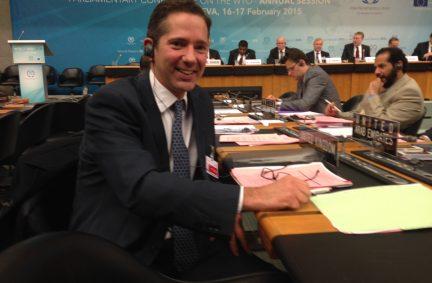 Jonathan Djanogly MP represented the UK Parliament at the Conference