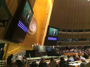 CSW 61 was opened by the President of the UN General Assembly, Ambassador Peter Thomson of Fiji