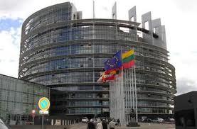 European Parliament in Brussles