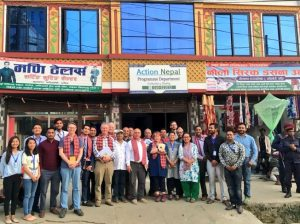 The UK parliamentary delegation met with civil society groups in Nepal