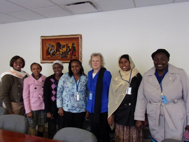Meeting with women parliamentarians from around the world