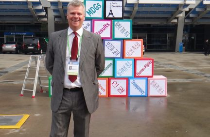 Michael McCann MP in Busan, ROK