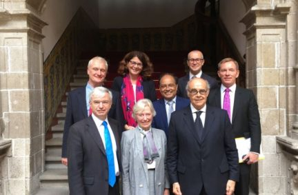 The UK delegation was led by Chair of the Latin America APPG, Mark Menzies MP and met Foreign Minister Ricardo Luna