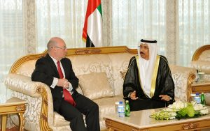 Meeting with HE Mohammed Ahmed Al-Murr, Speaker of the Federal National Council