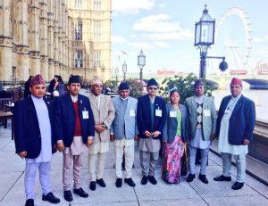 Speaker-led Nepal delegation visit the Palace of Westminster
