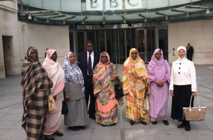 BGIPU hosts delegation from Sudan to London