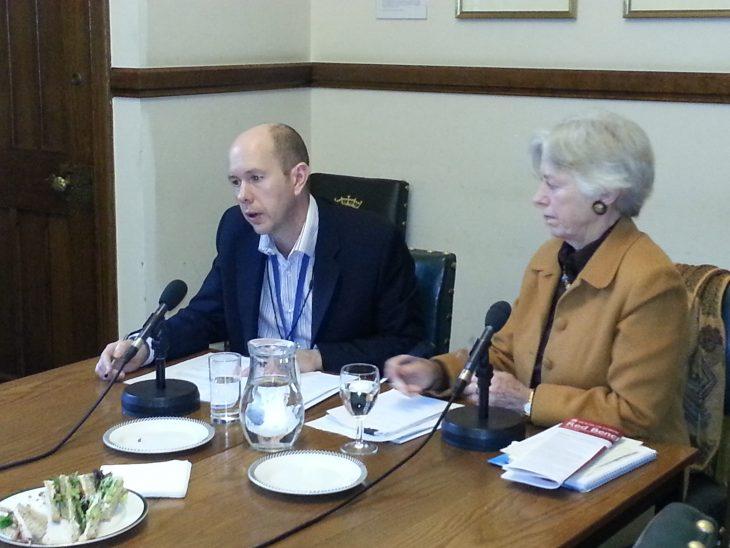 Baroness Hooper CMG and John Worne