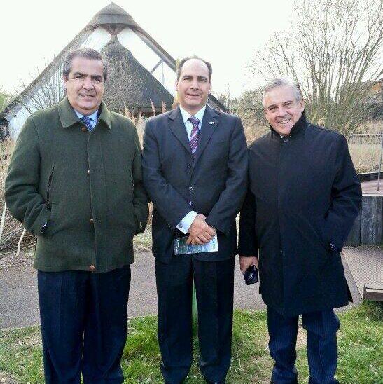 Uruguay delegates visit WWT London Wetland Centre