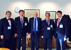 Mongolia Delegation meet UK Trade Minister, Lord Maude