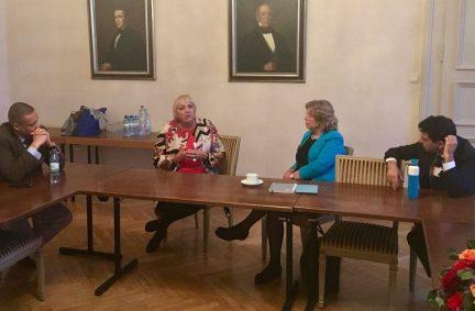 UK members meet Claudia Roth, Deputy Speaker of the Bundestag at the COP 23 parliamentary meetings in Bonn