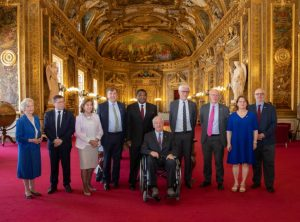 The French Senate and members of its national IPU Group welcomed the UK delegation to mark the 130th anniversary of the IPU