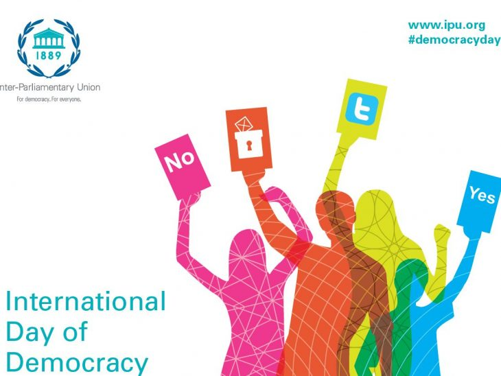 The theme for Democracy Day in 2014 is engaging youth on democracy