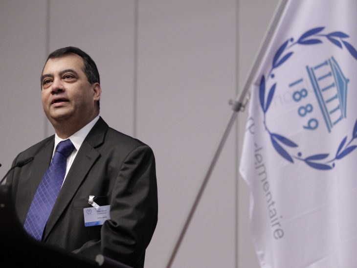 """We are inviting and challenging all parliaments to think innovatively about democracy's future, including from the perspective of ensuring the 2030 Agenda for Sustainable Development succeeds,"""" said IPU President Saber Chowdhury."""