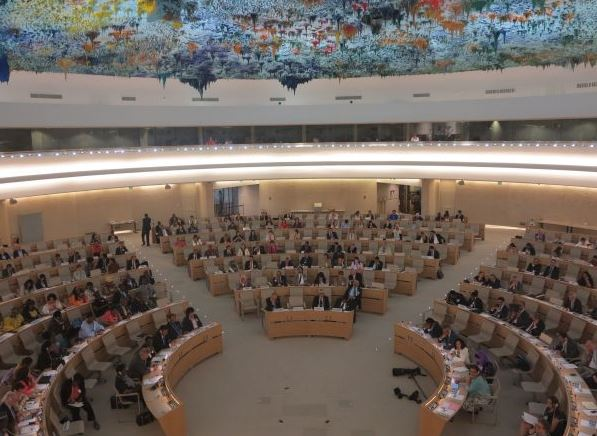 The 125th Anniversary of the IPU was celebrated in the Human Rights and Alliance of Civilizations Room at the Palais des Nations in Geneva