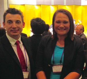 Providing opportunities to network: Gavin Shuker MP meets New Zealand counterpart Carmel Sepuloni