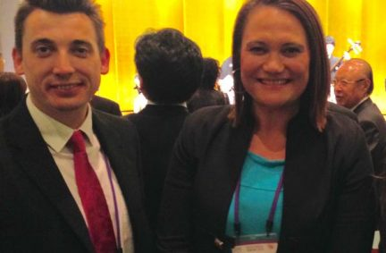 Providing opportunities to network: Gavin Shuker MP meets New Zealand counterpart Carmel Sepuloni
