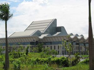 The National Convention Center in Hanoi where the 132nd Assembly will take place