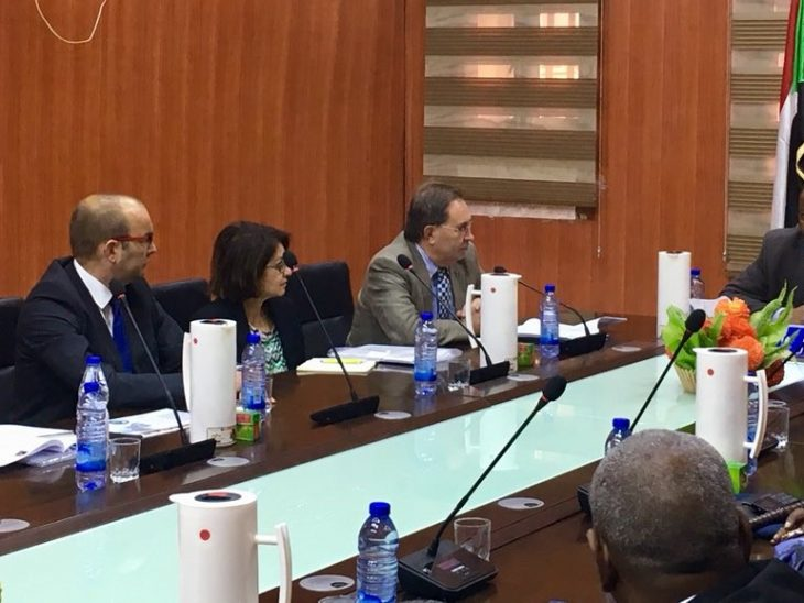 Sudan APPG members meet with local government officials in Darfur