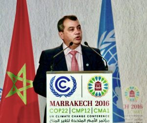 IPU President, Saber Chowdhury MP, highlights to view of parliaments in addressing the High Level segment at COP22 in Marrakech