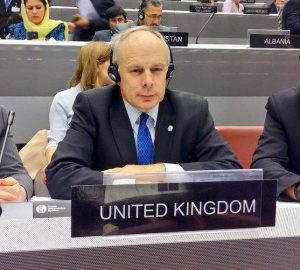 The UK's IPU Executive Committee Member, Ian Liddell-Grainger MP proposed the adoption of the 2015 Annual Report