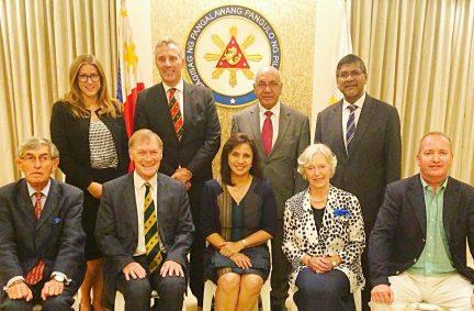 UK Delegation, accompanied by UK Ambassador, meet Philippines Vice President Robredo