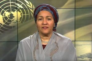 UN DSG Amina J. Mohammed spoke at the DCF