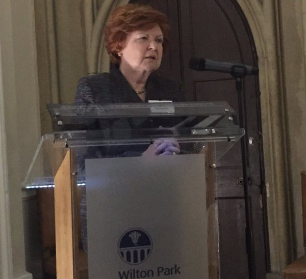 Former President of Latvia Vaira Vīķe-Freiberga delivered an inspiring keynote address to conference participants on 8 February
